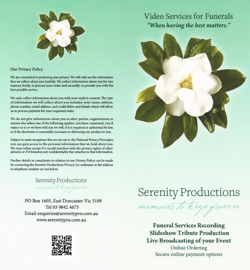 serenity-Production-Brochure-Page-1
